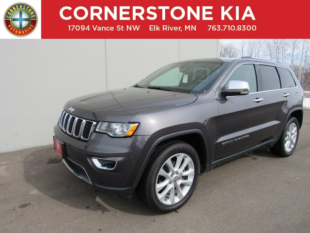 Pre Owned 2017 Jeep Grand Cherokee Limited 4D Sport Utility in Elk