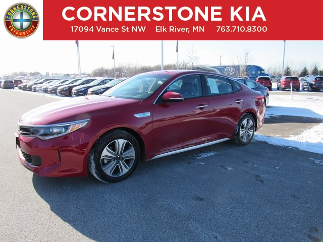 Pre-Owned 2017 Kia Optima Hybrid EX